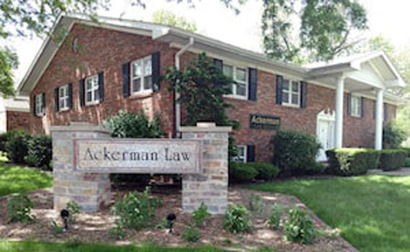 Exterior photo of Ackerman Law Office in Springfield, IL